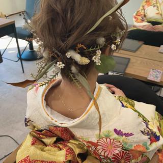 パーティ ナチュラル デート 結婚式 ヘアスタイルや髪型の写真・画像