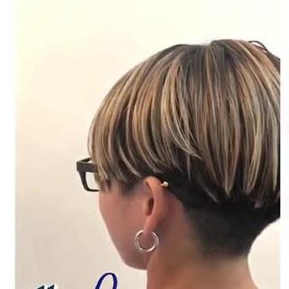 ナチュラル ハイライト ショート スポーツ ヘアスタイルや髪型の写真・画像 ヘアスタイルや髪型の写真・画像