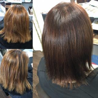 縮毛矯正 髪質改善 頭皮改善 髪質改善トリートメント ヘアスタイルや髪型の写真・画像