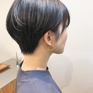 デート ヘアアレンジ ショート ナチュラル ヘアスタイルや髪型の写真・画像