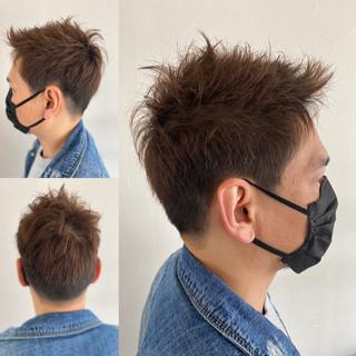 ショート ベリーショート メンズカット ストリート ヘアスタイルや髪型の写真・画像