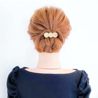 三つ編み 簡単ヘアアレンジ ショート フェミニン ヘアスタイルや髪型の写真・画像 ヘアスタイルや髪型の写真・画像