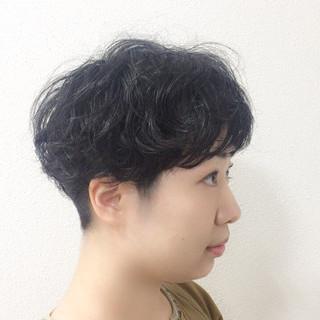 ゆるふわ ショート 簡単ヘアアレンジ ウェーブ ヘアスタイルや髪型の写真・画像