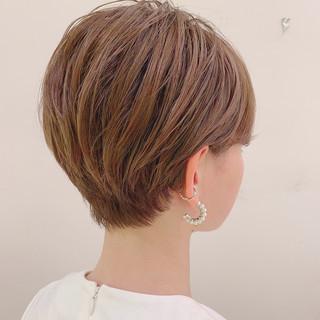 スポーツ ショート フェミニン アウトドア ヘアスタイルや髪型の写真・画像