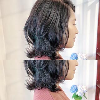 大人かわいい デート ハイライト 小顔ヘア ヘアスタイルや髪型の写真・画像