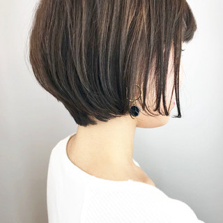 エレガント ショートヘア ショートボブ 大人かわいい ヘアスタイルや髪型の写真・画像