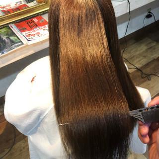 髪質改善 ナチュラル 髪質改善トリートメント 縮毛矯正 ヘアスタイルや髪型の写真・画像