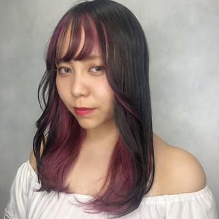 女子力 オルチャン ピンク ガーリー ヘアスタイルや髪型の写真・画像