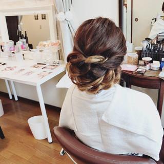 エレガント 花嫁 女子力 和装 ヘアスタイルや髪型の写真・画像