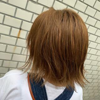 N.オイル ミディアム 圧倒的透明感 ナチュラル ヘアスタイルや髪型の写真・画像