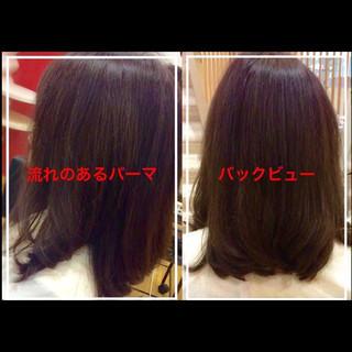似合わせ フェミニン ミディアム ヘアアレンジ ヘアスタイルや髪型の写真・画像