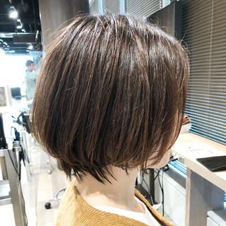 フェミニン ショートボブ ショートヘア ベリーショート ヘアスタイルや髪型の写真・画像