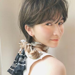 ヘアアレンジ ガーリー アウトドア 大人かわいい ヘアスタイルや髪型の写真・画像