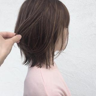ナチュラル ボブ 夏 外国人風カラー ヘアスタイルや髪型の写真・画像