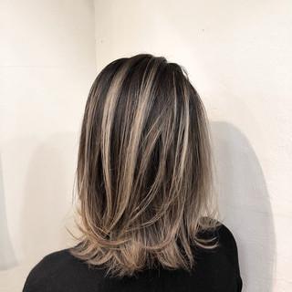 グラデーションカラー ナチュラル インナーカラー ハイライト ヘアスタイルや髪型の写真・画像