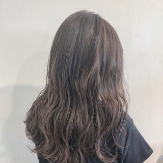 ショコラブラウン クリーミーカラー ミルクティーベージュ ガーリー ヘアスタイルや髪型の写真・画像