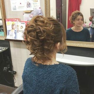 セミロング 上品 結婚式 エレガント ヘアスタイルや髪型の写真・画像 ヘアスタイルや髪型の写真・画像