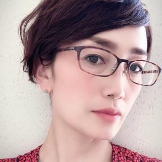 ゆるふわ くせ毛風 40代 エレガント ヘアスタイルや髪型の写真・画像