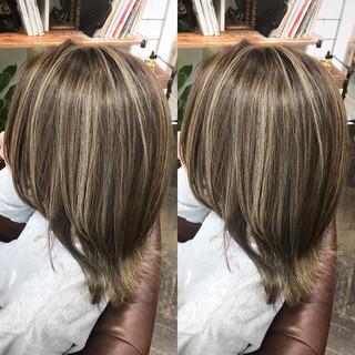 ヘアアレンジ 外国人風カラー 上品 ハイライト ヘアスタイルや髪型の写真・画像 ヘアスタイルや髪型の写真・画像