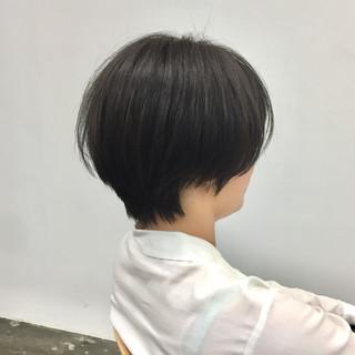 ショートヘア 小顔ショート ショート ナチュラル ヘアスタイルや髪型の写真・画像