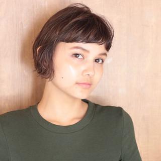 ショートヘア ベリーショート ミニボブ ショートボブ ヘアスタイルや髪型の写真・画像