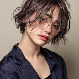 ショート 似合わせ 大人女子 ボブ ヘアスタイルや髪型の写真・画像 ヘアスタイルや髪型の写真・画像