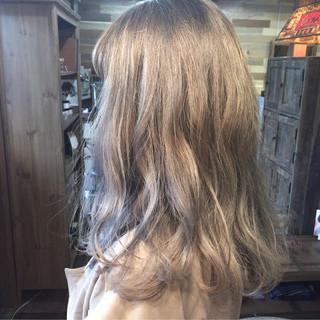 外国人風カラー ヘアアレンジ グラデーションカラー ストリート ヘアスタイルや髪型の写真・画像