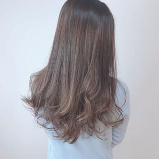 ロング うる艶カラー ブリーチカラー デザインカラー ヘアスタイルや髪型の写真・画像 ヘアスタイルや髪型の写真・画像
