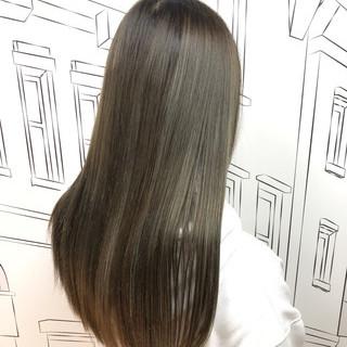 ストリート 外国人風カラー イルミナカラー ハイライト ヘアスタイルや髪型の写真・画像