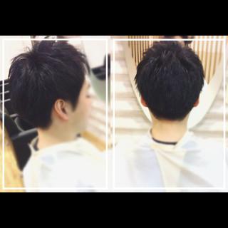 スポーツ オフィス ベリーショート 黒髪 ヘアスタイルや髪型の写真・画像 ヘアスタイルや髪型の写真・画像