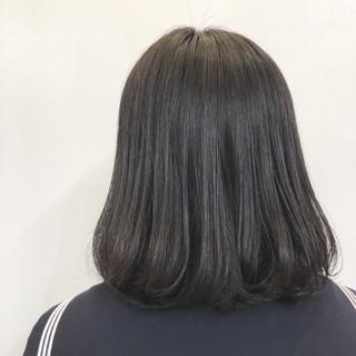 ワンカール 簡単スタイリング フェミニン ボブ ヘアスタイルや髪型の写真・画像