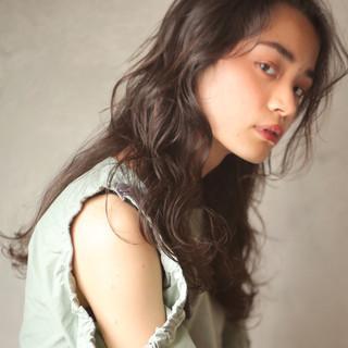 パーマ 外国人風 簡単ヘアアレンジ ヘアアレンジ ヘアスタイルや髪型の写真・画像