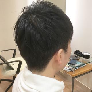 ナチュラル メンズ ショート メンズカット ヘアスタイルや髪型の写真・画像
