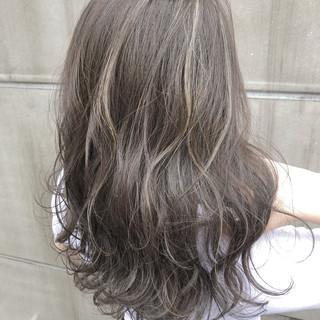透明感 セミロング 女子力 アウトドア ヘアスタイルや髪型の写真・画像