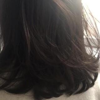 デート オフィス ウェーブ グレージュ ヘアスタイルや髪型の写真・画像