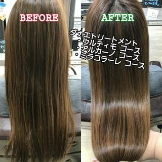 名古屋市守山区 美髪 髪の病院 ロング ヘアスタイルや髪型の写真・画像