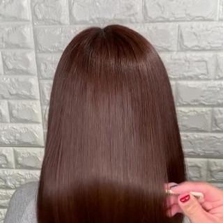 ヘアアレンジ 髪質改善トリートメント サイエンスアクア 髪質改善 ヘアスタイルや髪型の写真・画像