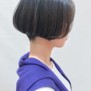 ショートボブ コンサバ ボブ 女子力 ヘアスタイルや髪型の写真・画像