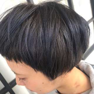 モード 外国人風カラー 中山寺 グレージュ ヘアスタイルや髪型の写真・画像
