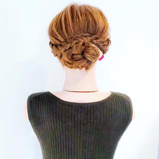 フェミニン ヘアアレンジ 大人かわいい 結婚式 ヘアスタイルや髪型の写真・画像