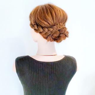 フェミニン ヘアアレンジ 大人かわいい 結婚式 ヘアスタイルや髪型の写真・画像   美容師HIRO/Amoute代表 / Amoute/アムティ
