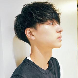 メンズヘア メンズパーマ メンズカット メンズカジュアル ヘアスタイルや髪型の写真・画像