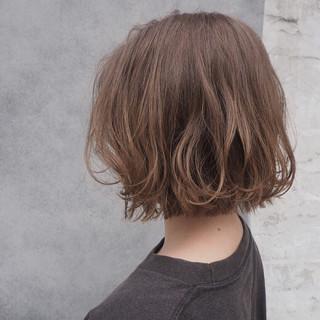 ゆるふわ パーマ 簡単 透明感 ヘアスタイルや髪型の写真・画像
