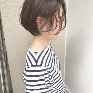 オフィス スポーツ ショート ナチュラル ヘアスタイルや髪型の写真・画像 ヘアスタイルや髪型の写真・画像