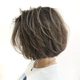 ウェットヘア ハイライト ナチュラル 外国人風 ヘアスタイルや髪型の写真・画像