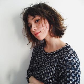 抜け感 マッシュ 色気 ナチュラル ヘアスタイルや髪型の写真・画像