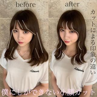 小顔ヘア ナチュラル ヘアアレンジ 簡単ヘアアレンジ ヘアスタイルや髪型の写真・画像