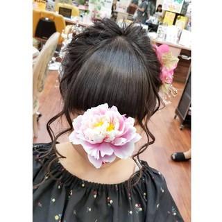 山口県 ナチュラル ヘアアレンジ 防府市 ヘアスタイルや髪型の写真・画像