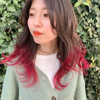 大人かわいい ミディアム ストリート 外国人風 ヘアスタイルや髪型の写真・画像