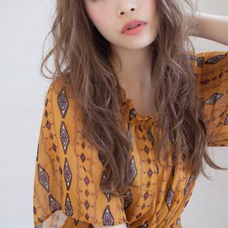 デート エフォートレス 簡単ヘアアレンジ フェミニン ヘアスタイルや髪型の写真・画像